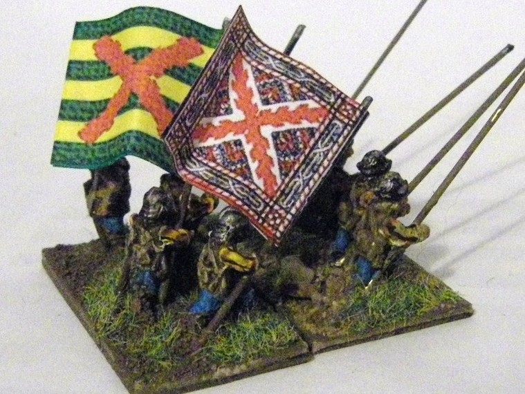 TYW FoG:R : Later Imperial Spanish, Freikorps Pikemen 15mm