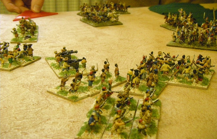 FoGR, in 1695: Buccaneer vs Tatars, 15mm