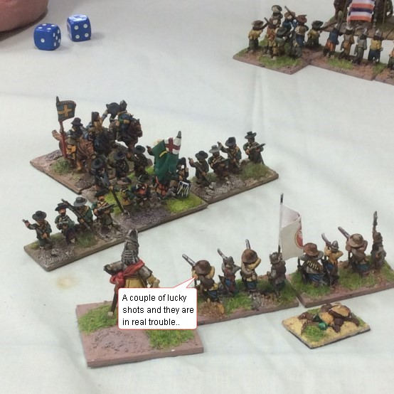 FoGR - Amended, English Civil War: Later Royalist vs Later Royalist, 15mm