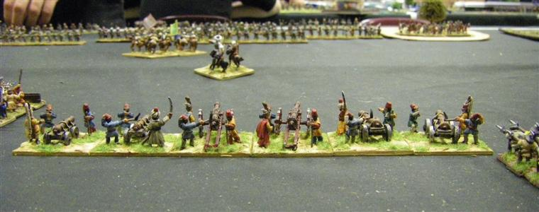 FoG: Renaissance: Early Ottoman Turkish vs Irish, 15mm