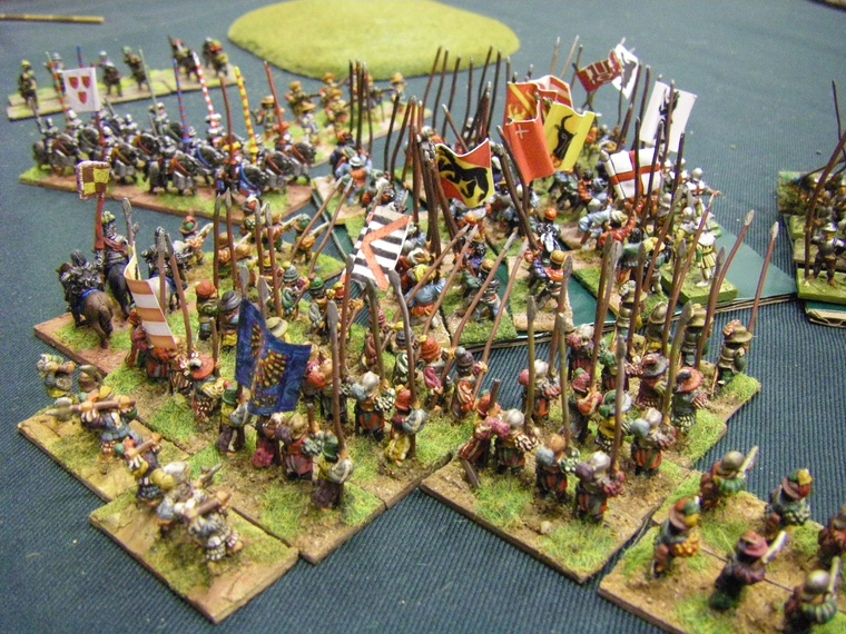 FoGR Early Renaissance: Early Danish vs Swiss, 15mm