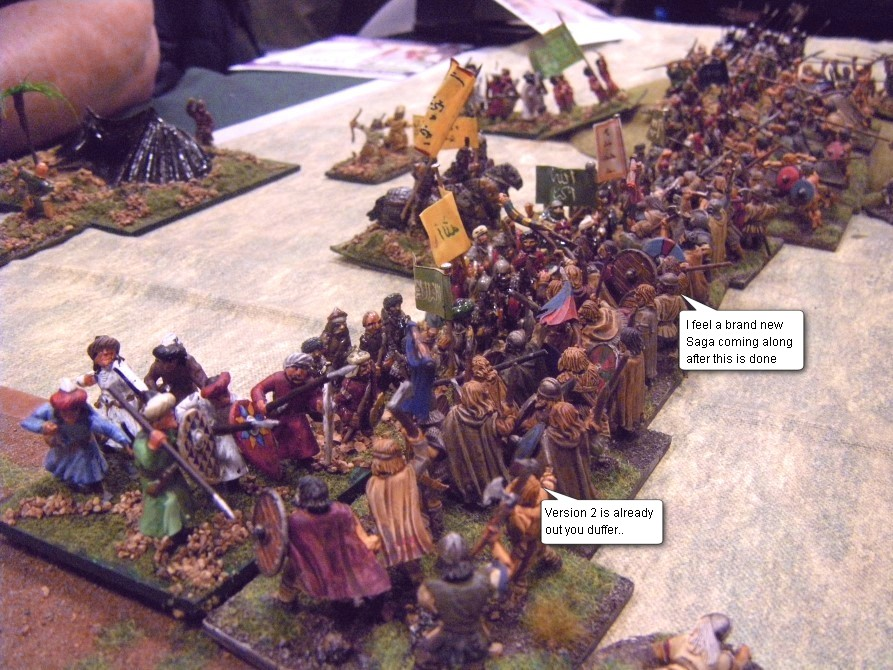 L'Art de la Guerre, Dark Ages & Early Feudal: Welsh vs Abbasid Arab, 25mm