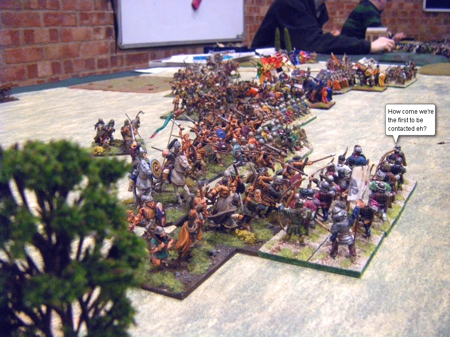 L'Art de la Guerre, Dark Ages & Early Feudal: Welsh vs Feudal English, 25mm
