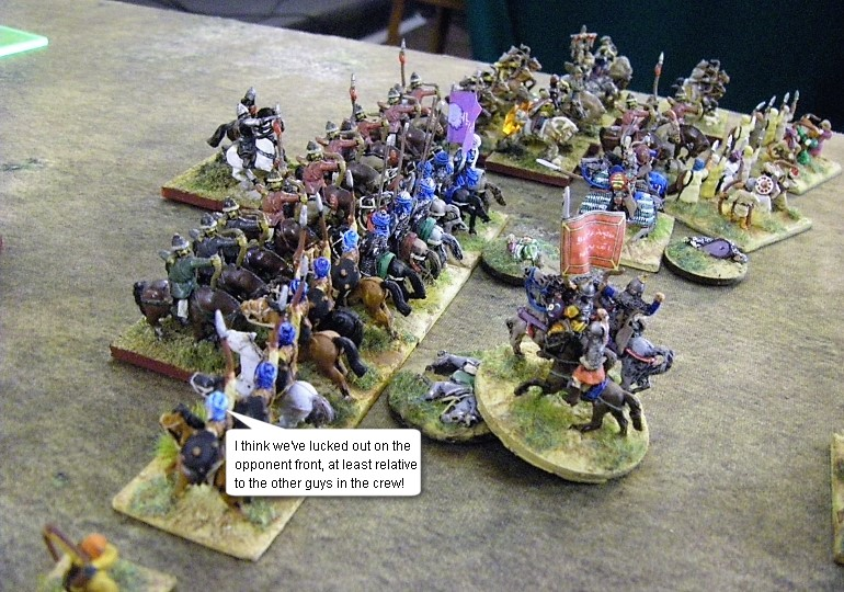 L'Art de la Guerre, ADLG World Championships: Khurasanian vs Steppe Mongol, 15mm
