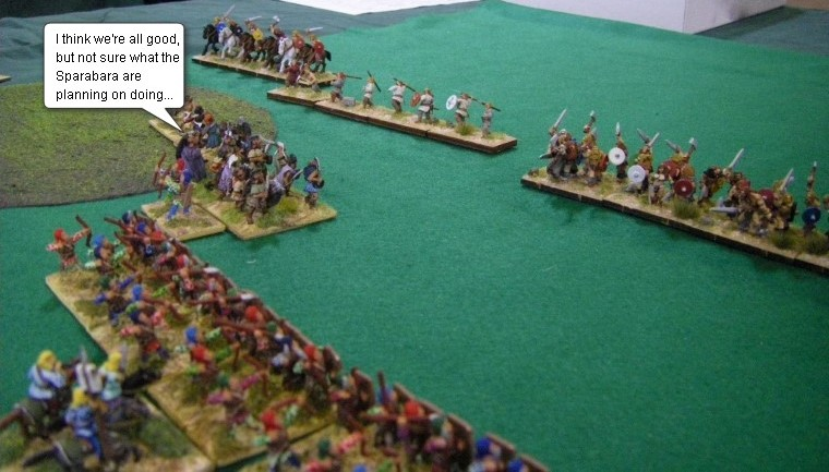 L'Art de la Guerre, Ancients: Early Achaemenid Persian vs Early Germans, 15mm