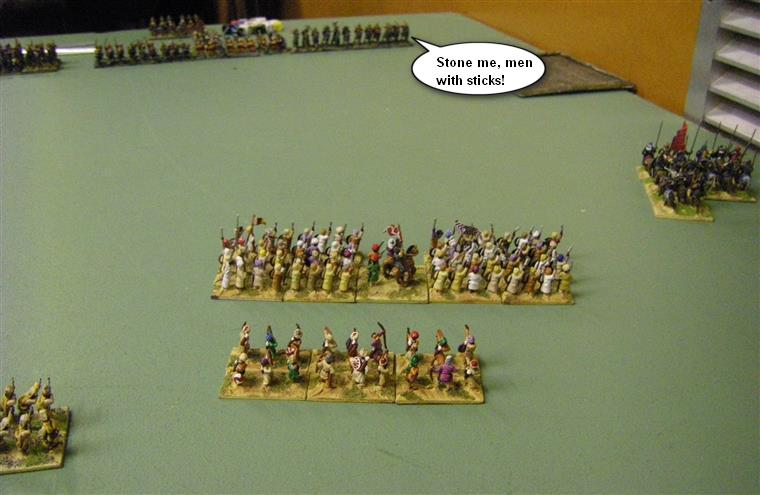 Field of Glory Renaissance Take-Away: Maratha vs Samurai, 15mm