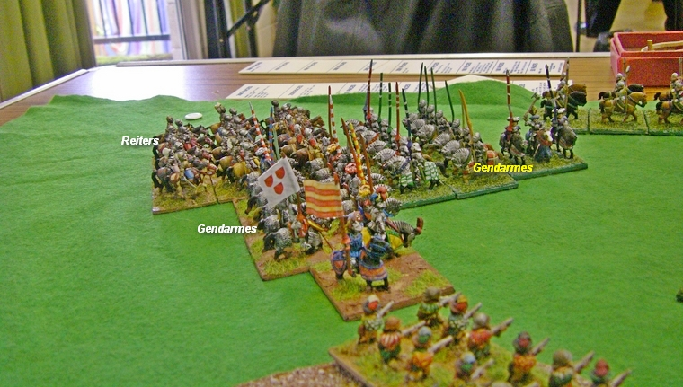FoGR Early Renaissance: Italian Wars French vs Trasamanta Spanish, 15mm