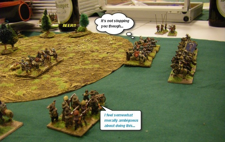 Renaissance, FoGR: Early Swedish vs Hungarian Transylvanians, 15mm