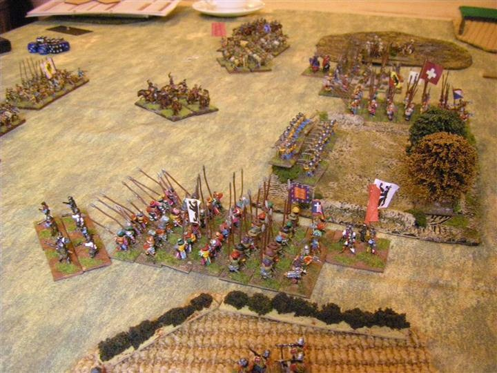 Imperial Austrian vs Huguenot, FoGR Battle report