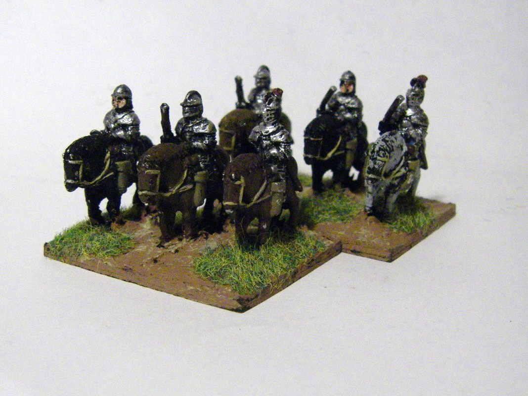 Cuirassiers, Freikorps - Early Danish, 15mm