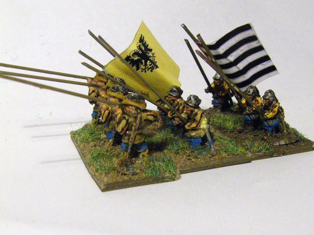 TYW FoG:R : QRF Freikorps Pike Landsnechts Early Danish, 15mm
