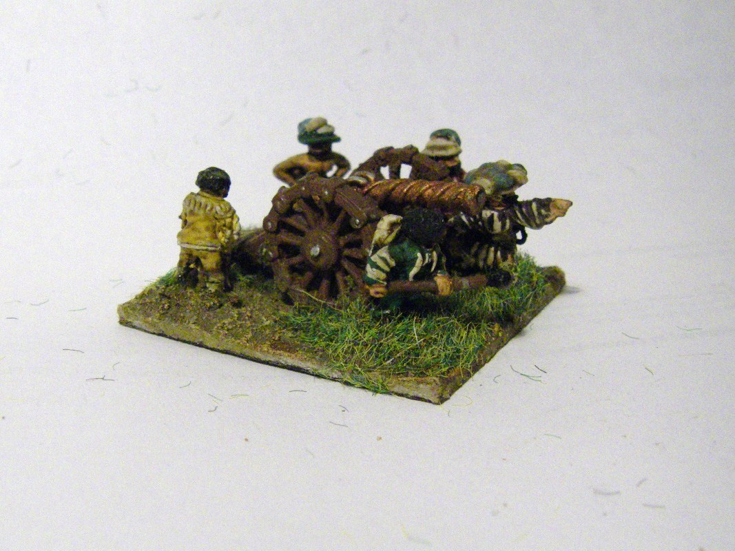 TYW FoG:R : Early Danish, Mikes Models Gunne 15mm