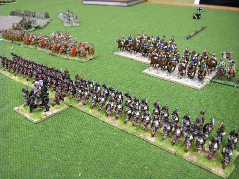 Bosporans vs Late Republican Romans Field of Glory Wargame