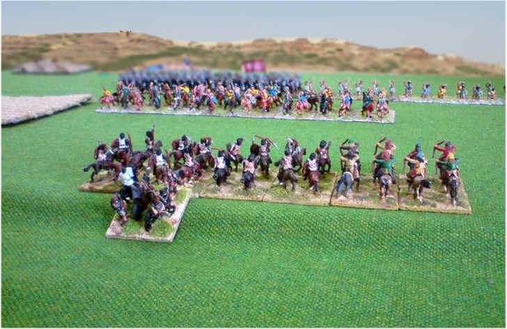 Parthian vs Late Republican Roman Field of Glory Battle